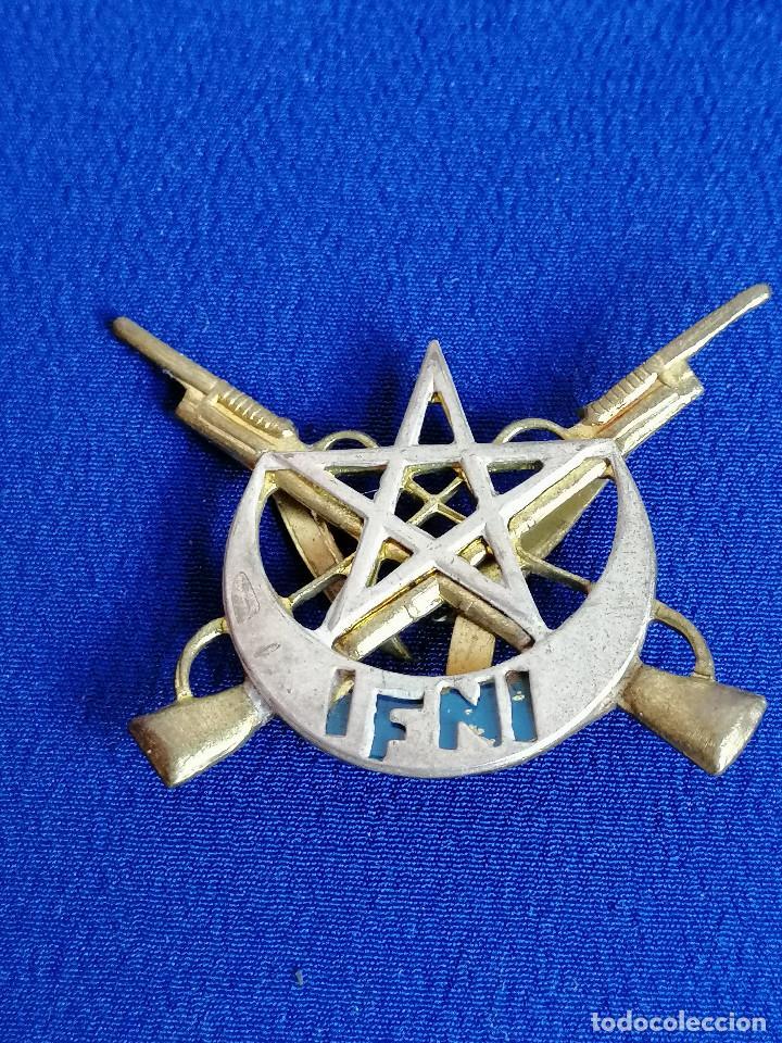 EJERCITO UNIDAD SIDI IFNI- INSIGNIA (Militar - Insignias Militares Españolas y Pins)