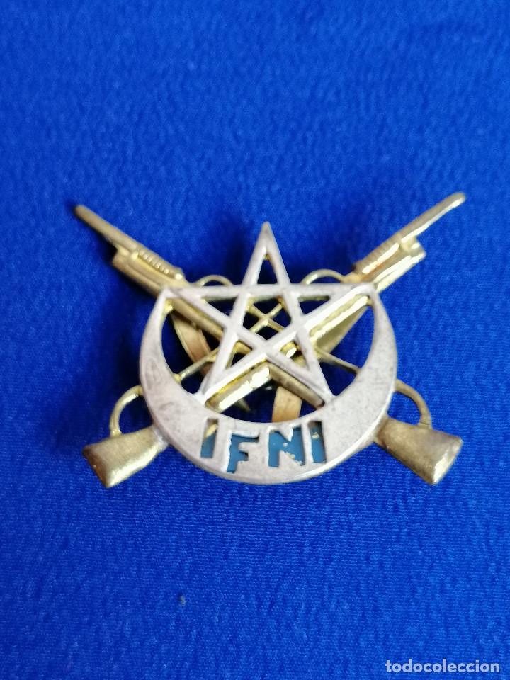 Militaria: EJERCITO UNIDAD SIDI IFNI- INSIGNIA - Foto 2 - 195282577