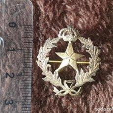 Militaria: INSIGNIA ESTADO MAYOR EN PLATA EPOCA ALFONSO XIII . Lote 195301021