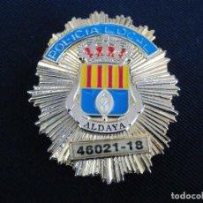 Militaria: PLACA DE PECHO DE ALDAYA ( VALENCIA ). Lote 195302550