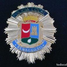 Militaria: PLACA DE PECHO DE BENAGUASIL ( VALENCIA ). Lote 195302722