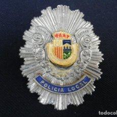 Militaria: PLACA DE PECHO DE QUART DE POBLET ( VALENCIA ). Lote 195303155