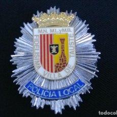 Militaria: PLACA DE PECHO DE TAUSTE ( ZARAGOZA ). Lote 195307516