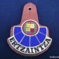 Militaria: PLACA DE PECHO DE LA ERTZAINTZA.. Lote 195307860