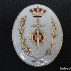 Militaria: ANTIGUA PLACA DE PECHO DE FUNCIONARIO DE PRISIONES.. Lote 195307973