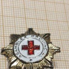 Militaria: PIN X CRUZ ROJA DE LA ASAMBLEA PROVINCIAL. Lote 195334650