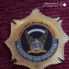 Militaria: PLACA CARTERA POLICIA DE ECUADOR, DISTINTIVO, INSIGNIA POLICIAL. Lote 195340132