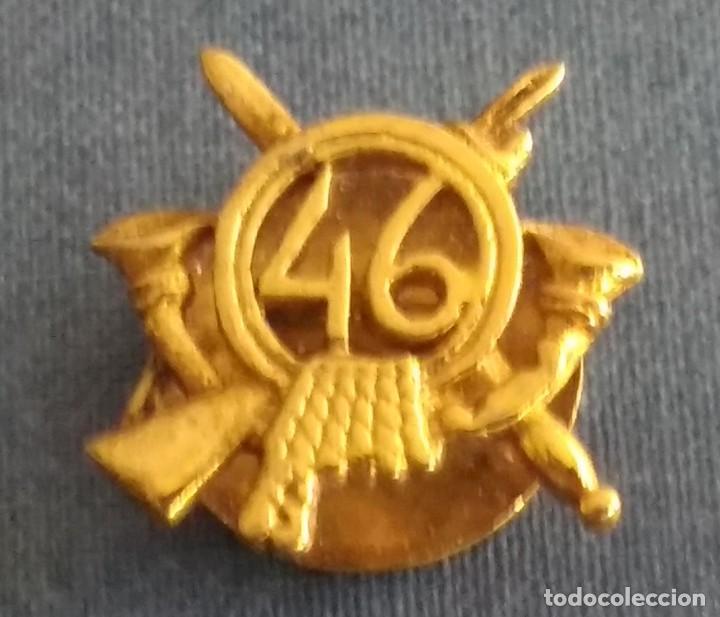 INSIGNIA MILITAR DE INFANTERIA 46 (Militar - Insignias Militares Españolas y Pins)