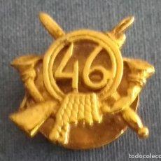 Militaria: INSIGNIA MILITAR DE INFANTERIA 46. Lote 195408322