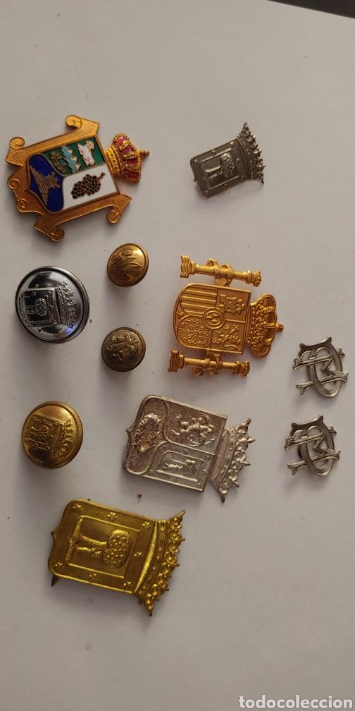 LOTE POLICIA MUNICIPAL MADRID (Militar - Insignias Militares Españolas y Pins)