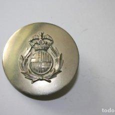 Militaria: 216,, ANTIGUA RARA PLACA DE DE CORREAJE, CON ESCUDO DE CATALUÑA. Lote 195476641