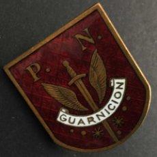 Militaria: POLICÍA NACIONAL GUARNICIÓN. Lote 195543323