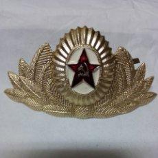 Militaria: INSIGNIA DE GORRA SOVIÉTICA. Lote 195946481