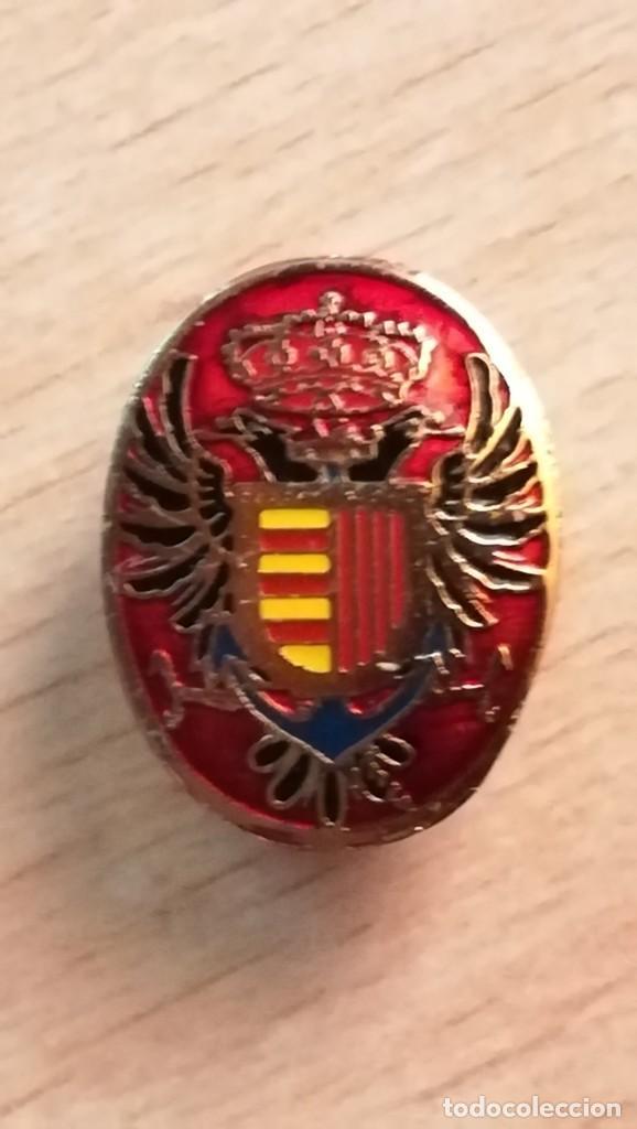 INSIGNIA DE OJAL AGUILA BICEFALA (Militar - Insignias Militares Españolas y Pins)