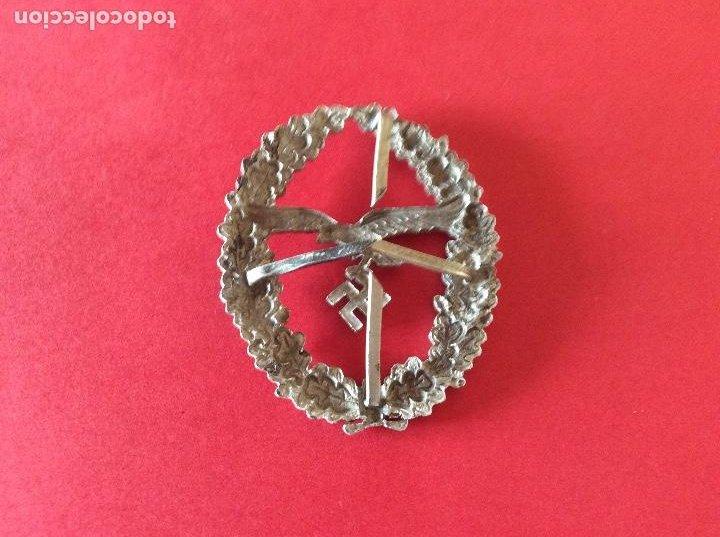 Militaria: PLACA INSIGNIA PARA TIRADOR DE LA LUFTWAFFE . III REICH. - Foto 2 - 187308445