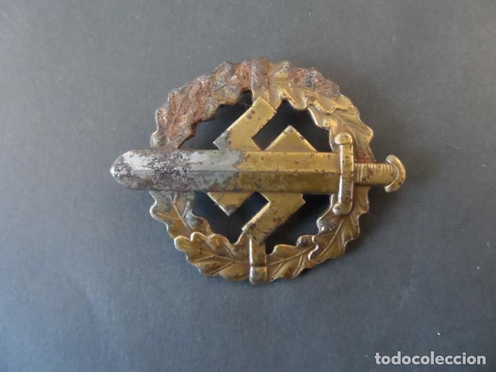 Militaria: PLACA DE DEPORTES DE LAS SA. SA SPORTABZEICHEN. EN BRONCE. AÑOS 1939-45 - Foto 5 - 196782096