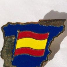 Militaria: EMBLEMA,DISTINTIVO,BANDERA ESPAÑOLA,MAPA DE ESPAÑA. Lote 196909798