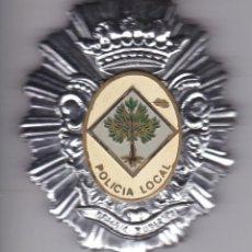 Militaria: PLACA IMPERDIBLE DE LA POLICIA LOCAL. Lote 197410410