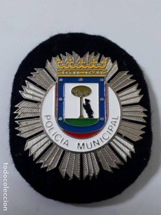 PLACA DE POLICIA MUNICIPAL (Militar - Insignias Militares Españolas y Pins)