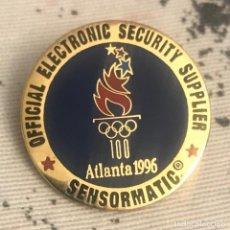 Militaria: PIN EMPRESA SEGURIDAD OFICIAL JUEGOS OLIMPICOS ATLANTA 1996. Lote 197840822