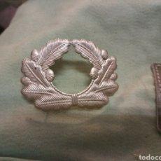 Militaria: ALEMANIA COCARDA RECREACIÓN SEGUNDA GUERRA MUNDIAL OFICIAL GORRA DE PLATO. Lote 198478280