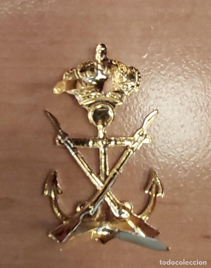 Militaria: Ancla infanteria de Marina med. 5 cm. - Foto 2 - 210669069