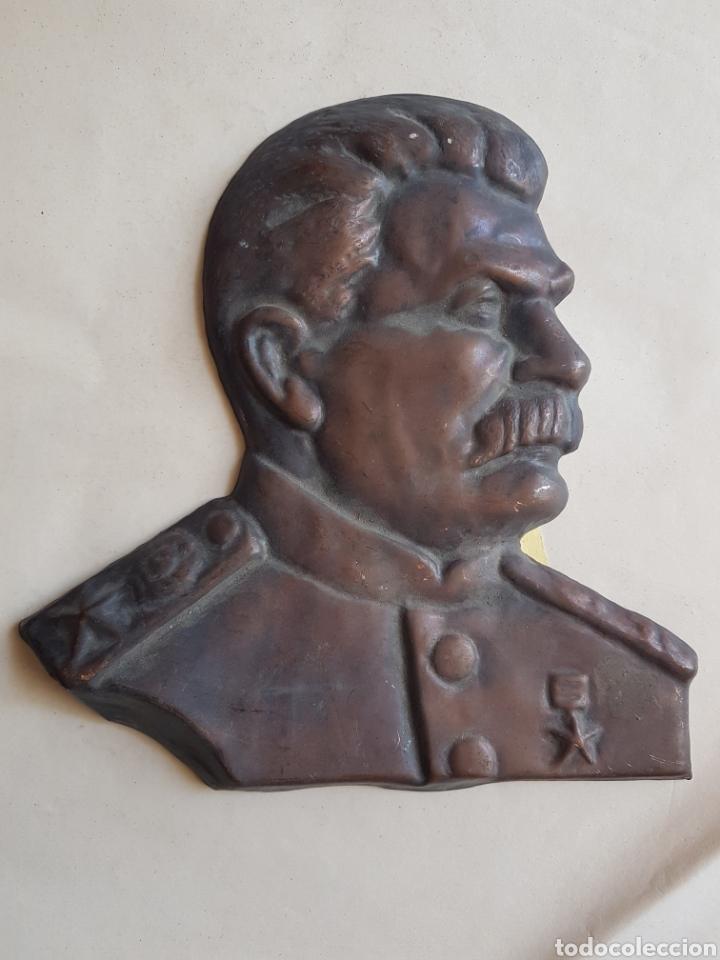 GRAN EMBLEMA COBRE DE STALIN W (Militar - Insignias Militares Extranjeras y Pins)