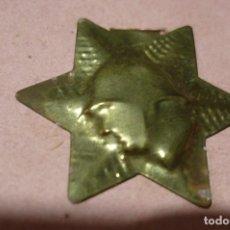 Militaria: EMBLEMA AUXILIO SOCIAL METALICO. DIVISION AZUL. Lote 199247430