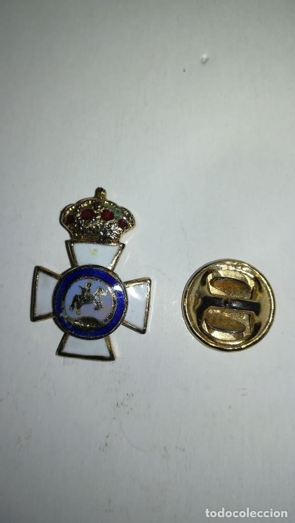 PIN CRUZ REAL ORDEN DE SAN HERMENEGILDO (Militar - Insignias Militares Españolas y Pins)