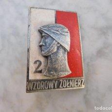 Militaria: INSIGNIA MILITAR POLACA POLONIA. Lote 201844277