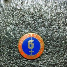 Militaria: 6TH MARINE DIVISIÓN INSIGNIA. Lote 203076337