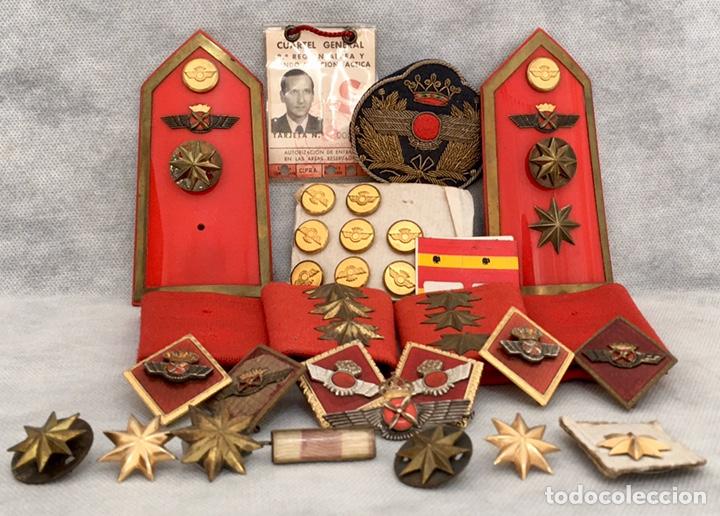 Militaria: Gran lote Rokiski militar con insignia de plata antiguo 1974 - Foto 2 - 203543061