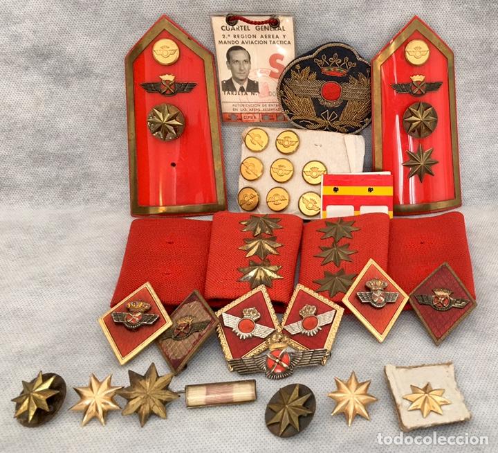 Militaria: Gran lote Rokiski militar con insignia de plata antiguo 1974 - Foto 3 - 203543061