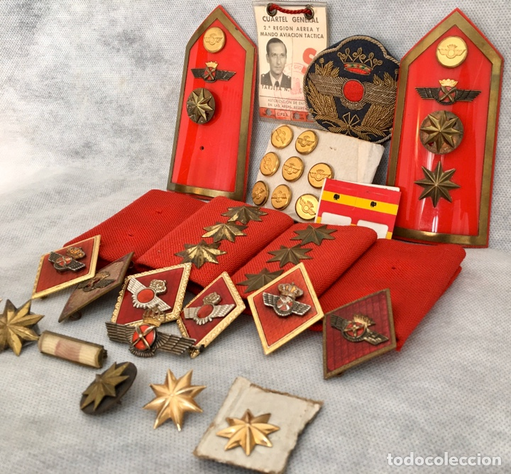 Militaria: Gran lote Rokiski militar con insignia de plata antiguo 1974 - Foto 7 - 203543061