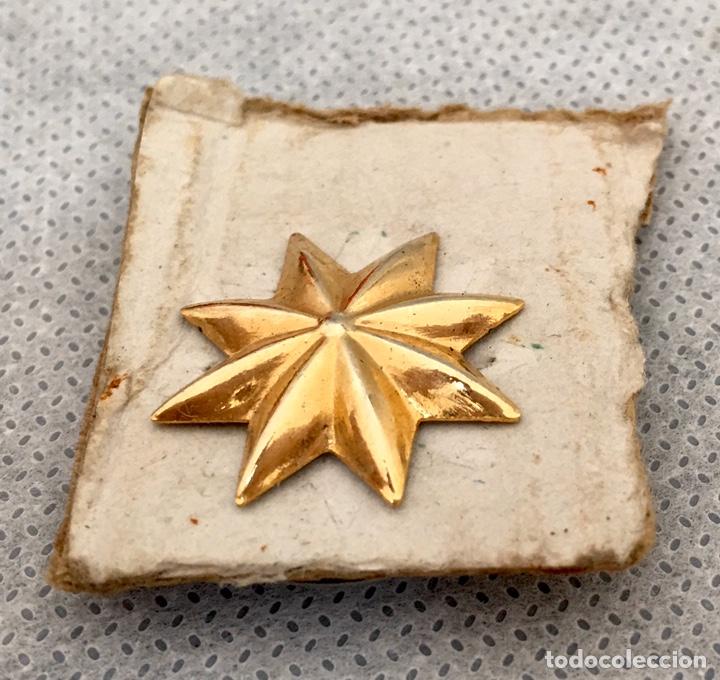 Militaria: Gran lote Rokiski militar con insignia de plata antiguo 1974 - Foto 8 - 203543061