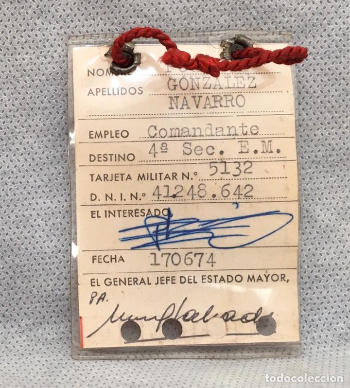 Militaria: Gran lote Rokiski militar con insignia de plata antiguo 1974 - Foto 38 - 203543061