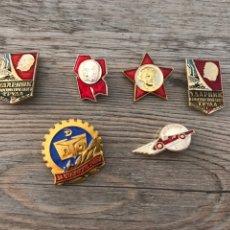 Militaria: LOTE PINS SOVIETICOS. Lote 203795627