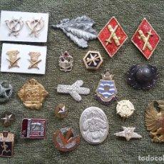 Militaria: LOTE EMBLEMAS VARIOS. Lote 204278732