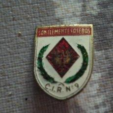 Militaria: INSIGNIA PIN MILITAR SAN CLEMENTE SASEBAS . C. I. R. N° 9. Lote 204829292