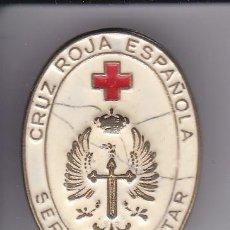 Militaria: PIN DEL SERVICIO MILITAR DE LA CRUZ ROJA ESPAÑOLA. Lote 205291720