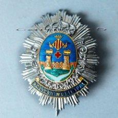 Militaria: PLACA POLICÍA MUNICIPAL CIUDAD DE ALCOY.. Lote 205318442