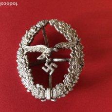 Militaria: PLACA INSIGNIA PARA TIRADOR DE LA LUFTWAFFE . ALEMANIA. II GM. III REICH. Lote 205439883