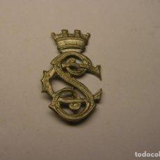 Militaria: INSIGNIA DE SOLAPA O GORRILLO, CUERPO DE SEGURIDAD, GUERRA CIVIL ESPAÑOLA.. Lote 205650022