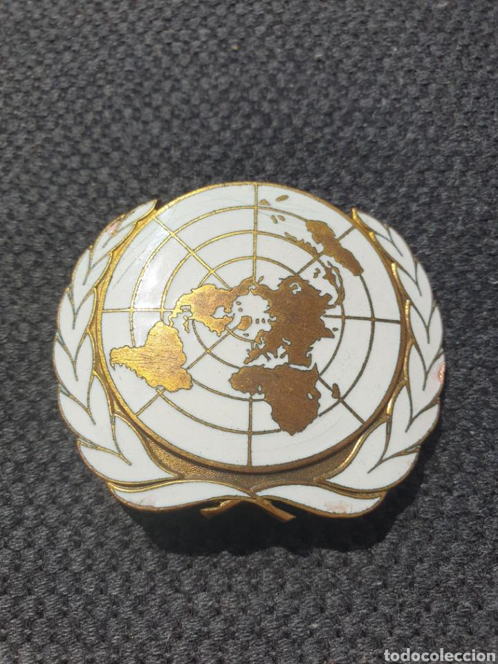 Militaria: Insignia de boina ONU. - Foto 2 - 205695332