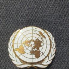Militaria: INSIGNIA DE BOINA ONU.. Lote 205695332