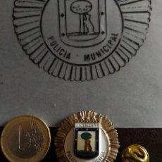 Militaria: PIN GRAN TAMAÑO POLÍCIA LOCAL MADRID. Lote 206411787