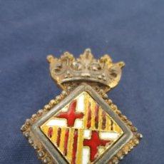 Militaria: PIN DE SOLAPA, ÉPOCA DE FRANCO. REGIDOR DE BARCELONA.. Lote 206574583