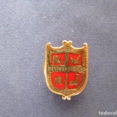 Militaria: PIN DE SOLAPA, ÉPOCA DE FRANCO .GREMI MESTRES FOSTERS 1400. Lote 206575102
