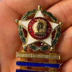 Militaria: DISTINTIVO ESMALTADO PROFESORADO MILITAR CON 4 BARRAS DE PERMANENCIA - BELLA FACTURA. Lote 207265881