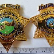Militaria: PLACA POLICIAL AMERICANA. Lote 208478215